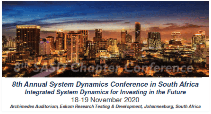 8th Annual System Dynamics Conference in South Africa Integrated System Dynamics for Investing in the Future