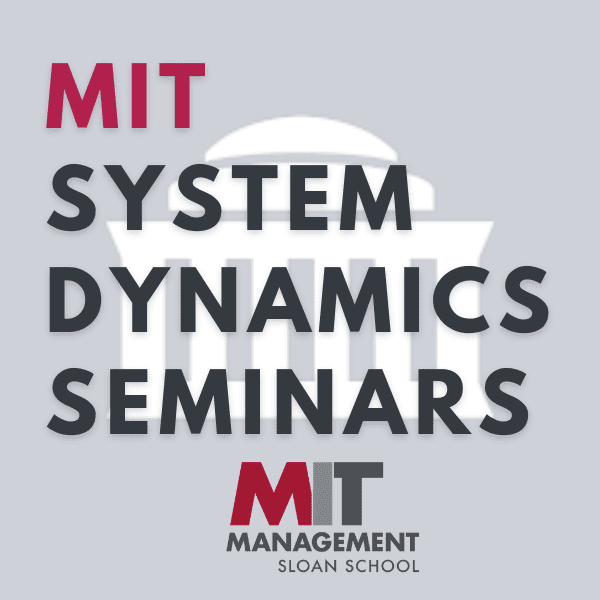 MIT System Dynamics Seminar: Do people differ much? Asymmetry in learning about individual differences