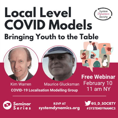 Local Level COVID Models: Bringing Youth to the Table