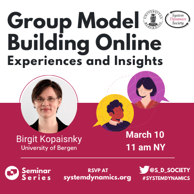 Group Model Building Online: Experiences and Insights