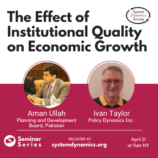 The Effect of Institutional Quality on Economic Growth