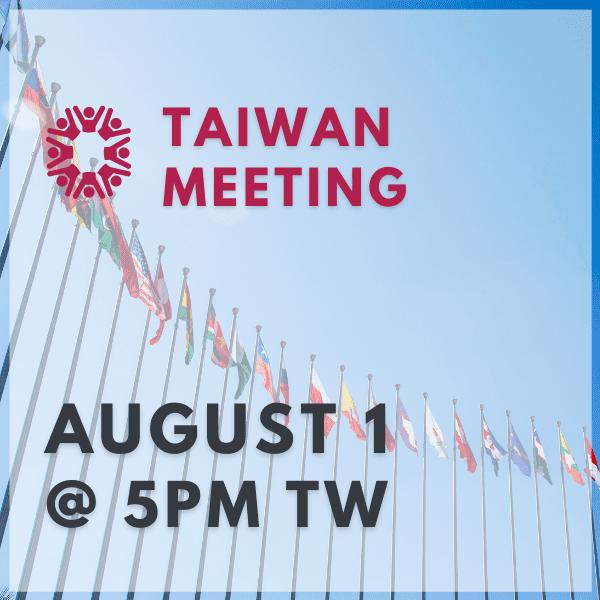 Taiwan Meeting